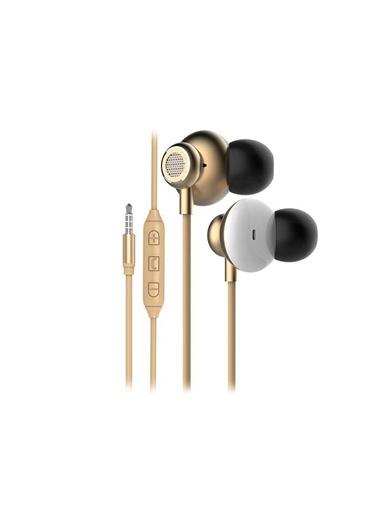 Snopy Sn-X03 Arcus Mobil Telefon Uyumlu Gold Kulak Içi Mikrofonlu Kulaklık Renkli